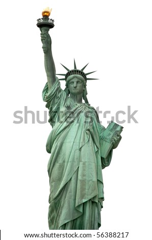 Liberty statue, New York City, USA