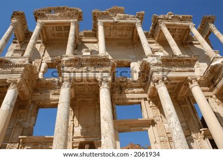 Library at Ephesus, Turkey