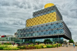 Library in Birmingham, HDR-technique