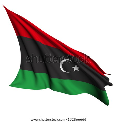 Libya flag - collection no_4