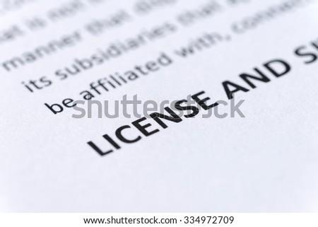 License Portion Of Legal Document EZ Canvas - Ez legal forms