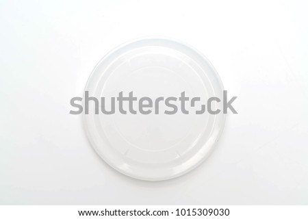 lid of packaging isolated on white background Stockfoto ©