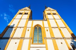 Liebfrauenkirche or Church of Our Lady is the oldest church in Koblenz in Germany