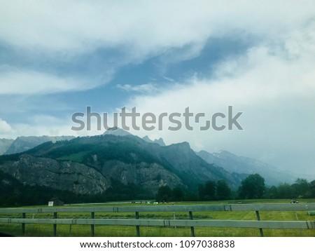 Liechtenstein architecture and nature