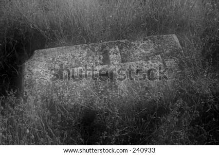 Life and Death (Memento mori)in black and white