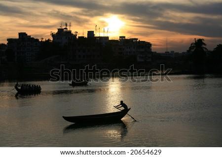 Life in Dhaka city,Bangladesh