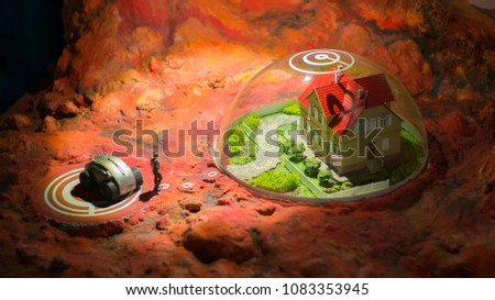 life on the planet Mars