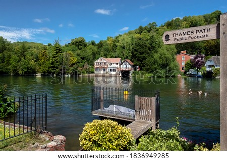 Life on the Thames at Henley-on-Thames which is a town on the River Thames in Oxfordshire, England.