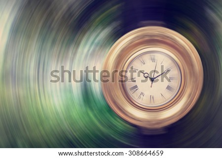 life passing by   time concept