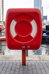 Life Preserver Box on the Canal