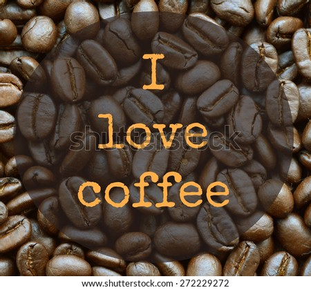 life quote. Inspirational quote. Motivational background with coffee background