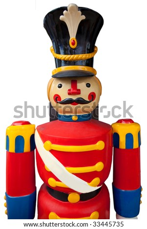 Life size toy soldier