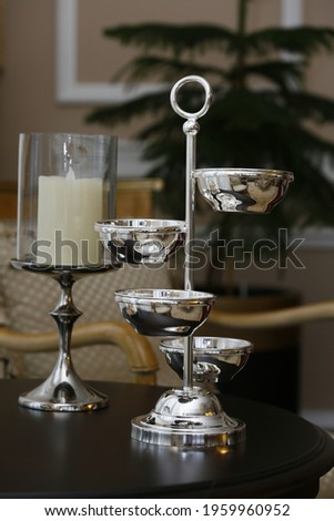 life stil ev dekorasyon ürünleri doğal ışıkta çekildi Stok fotoğraf ©