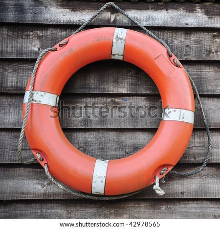 Lifebuoy - stock photo