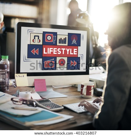 Lifestyle Way of Life Habits Situation Culture Concept