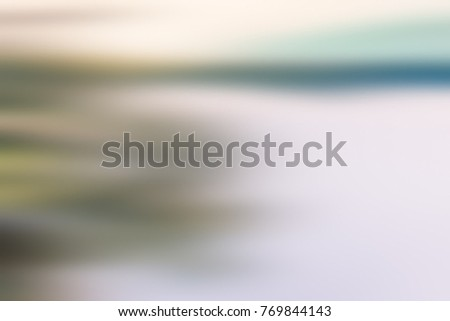 Light abstract gradient motion blurred background. Colorful lines texture wallpaper #769844143
