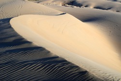 Light and Shadow Play Upon this Sand Dune in the Arabian Desert, Eastern Province, Kingdom of Saudi Arabia