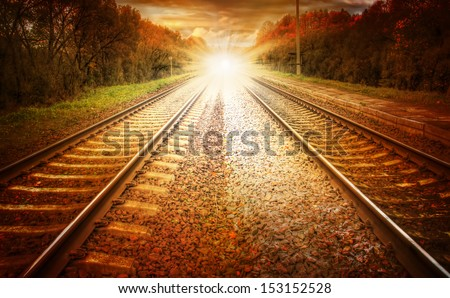 Light at the end of the track