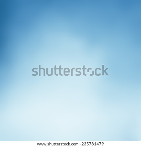 Light Blue Background Blurred Sky Design Cloudy White