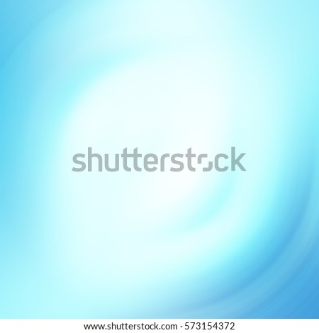light blue background with a circular blur