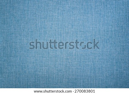 Light Blue canvas texture. canvas fabric as background