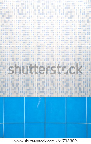 Light Blue Ceramic Wall