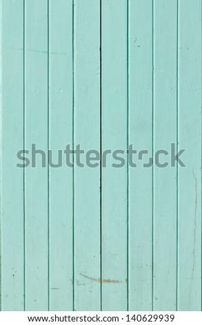 Light blue color hardwood door