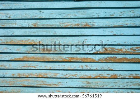 Light blue painted wood strips, filling the frame