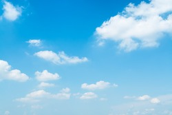 Light blue, summer sky.