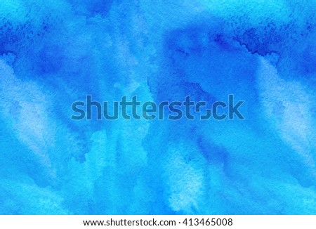 Light Blue Water Color Texture Background