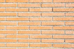 light brick wall, sunny day, background texture