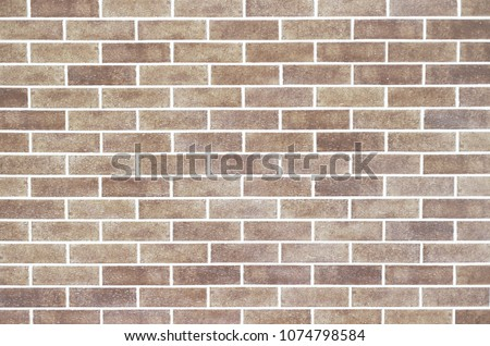 Light brown brick wall wallpaper and surface texture. #1074798584