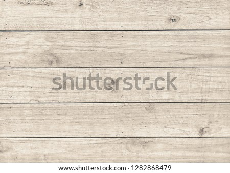 Light brown color wood wall with beautiful wood texture for graphic material wallpaper background and texture #1282868479