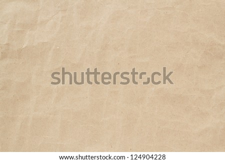 light brown crumpled paper texture, background, backdrop