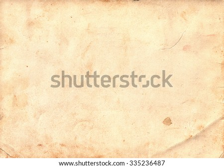 Light brown vintage paper. Vintage background #335236487