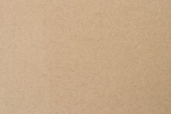 Light brown wrapping texture. Beige parchment, manuscript. Natural sheet surface. Old paper background.