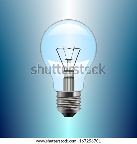 Light bulb. Illustration #167256701