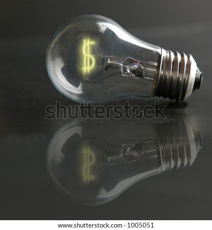 light-bulb money-sign