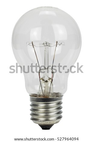 light bulb on a white background #527964094