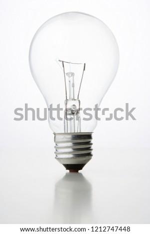 Light bulb on white background #1212747448