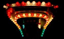 Light bulbs from funfair