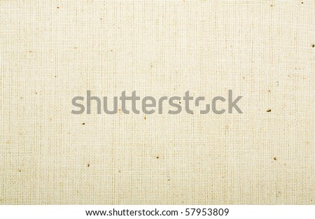 Light canvas background, close up, macro view