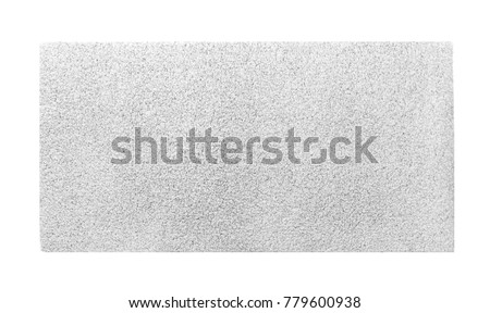 Light carpet on white background