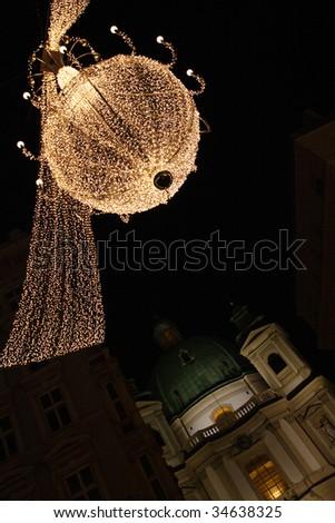 light Christmas decoration