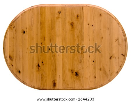 Light Colored Pine Table top