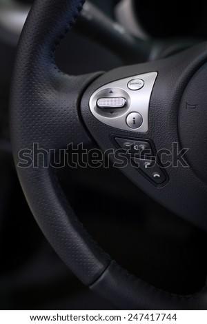 Light control devices inside a car