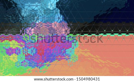 Light effects. Neon glow. Festive decoration. Colorful abstract background. Glowing texture. Shining pattern.