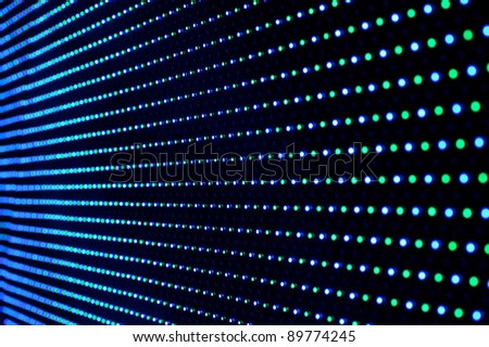 Light emitting diodes - stock photo