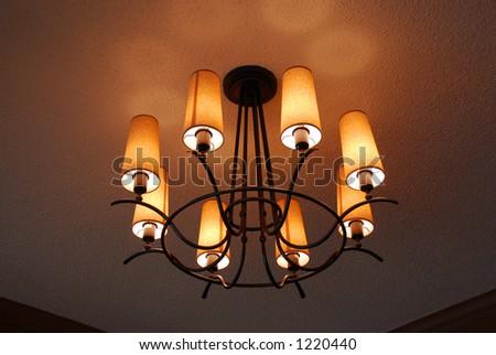 Light fixture closeup
