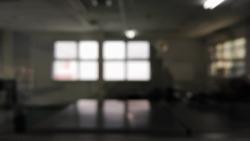Light from a window in a dark room
